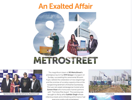 83 Metro Street ht City Gurgaon